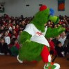 Phillie Phanatic deftly spreads reading fever