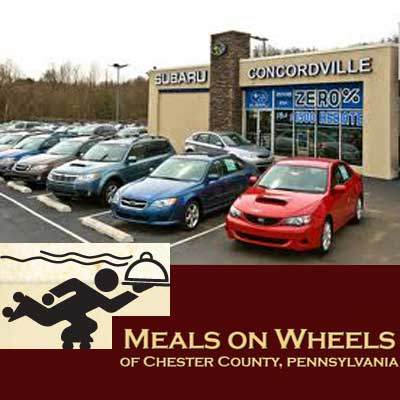 Meals On Wheels Partners With Concordville Subaru The Coatesville