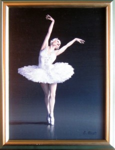 En Pointe by Bruce Blue will be included in the Blues Brothers art exhibit. 