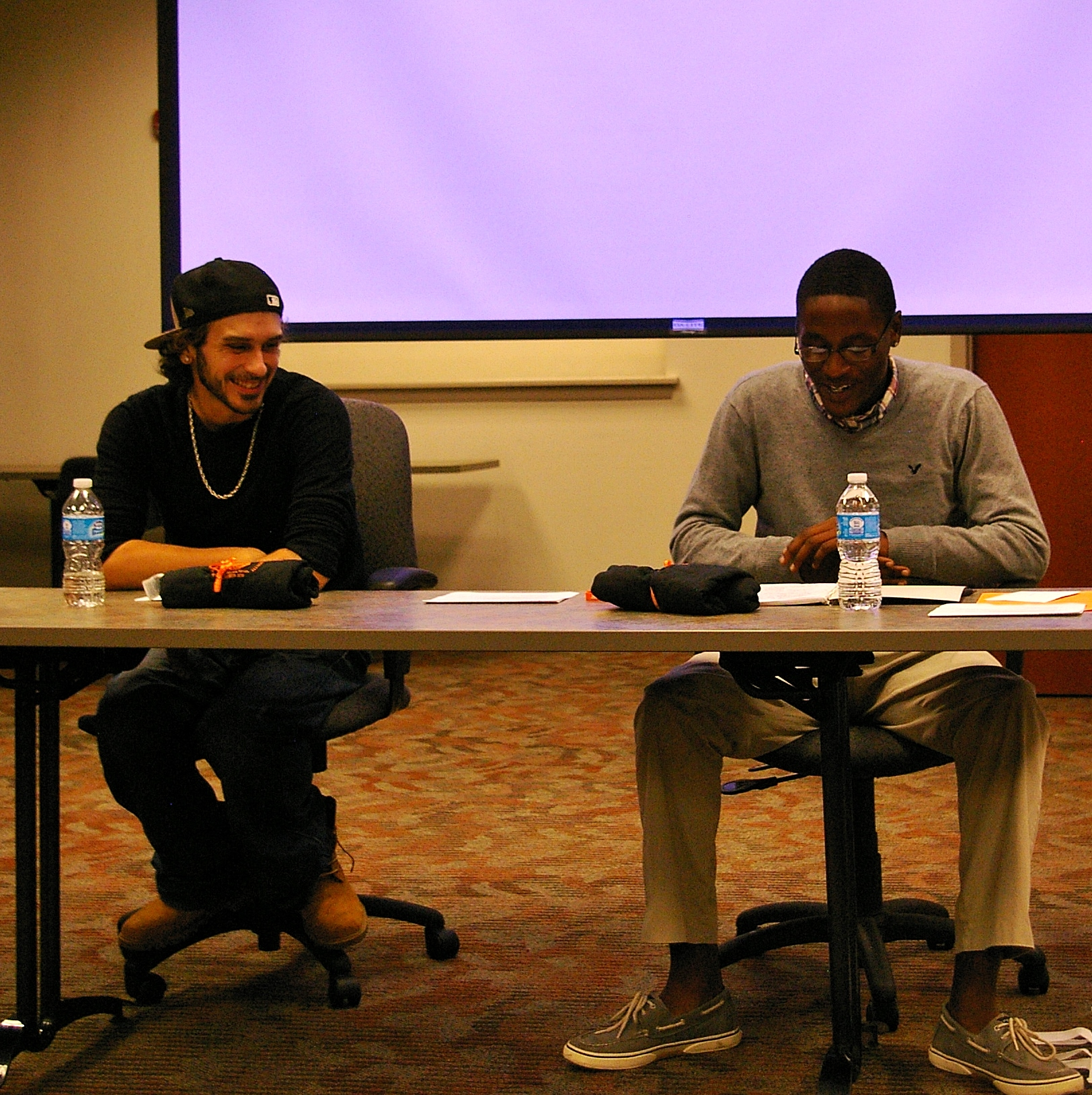 Rob Manriquez and Isaiah Heverly share their stories of being in the juvenile justice system.