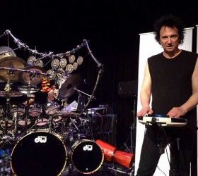 Terry Bozzio brings his percussion stylings to the World Cafe Live at The Queen in Wilmington, Sept. 11.