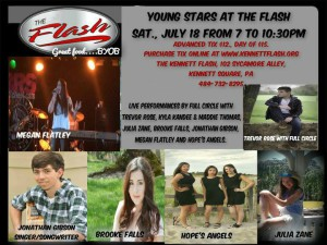 young stars at the flash