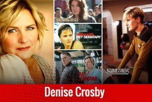comic con denise crosby
