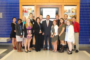 TCHS Brandywine students welcomed Pennsylvania Secretary of Education Pedro Rivera to their school, a stop on the Schools That Teach tour.