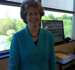 Although Ruth E. Kranz-Carl has retired as head of the county's Department of Human Services, she will work part time until her replacement is found.