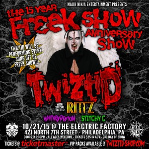 twiztid freek show