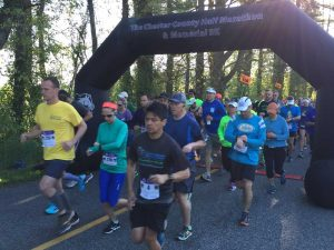Nearly 700 runners participated in the Chester County Half Marathon and Memorial 5K Sunday in honor of beloved community member Jacinda Miller.