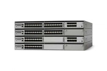A Cisco Catalyst 4500-X Series Switch, which forms the backbone of a winning bid for the Coatesville Area School District's Information Technology upgrade plan.