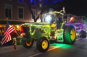 Holiday Light Parade in Kennett Square.