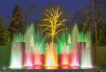 Christmas at Longwood Gardens.